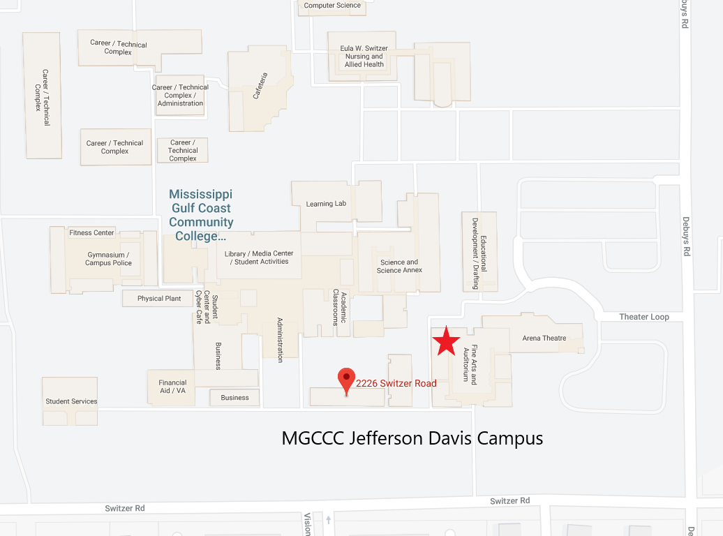 MGCCC JD Map