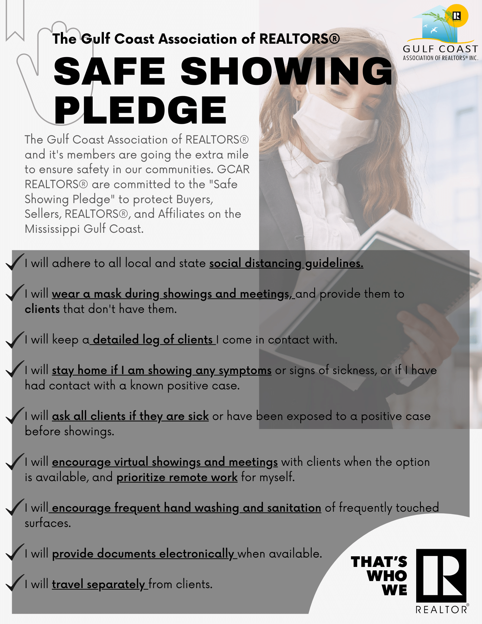 Safe Showing Pledge 7 27